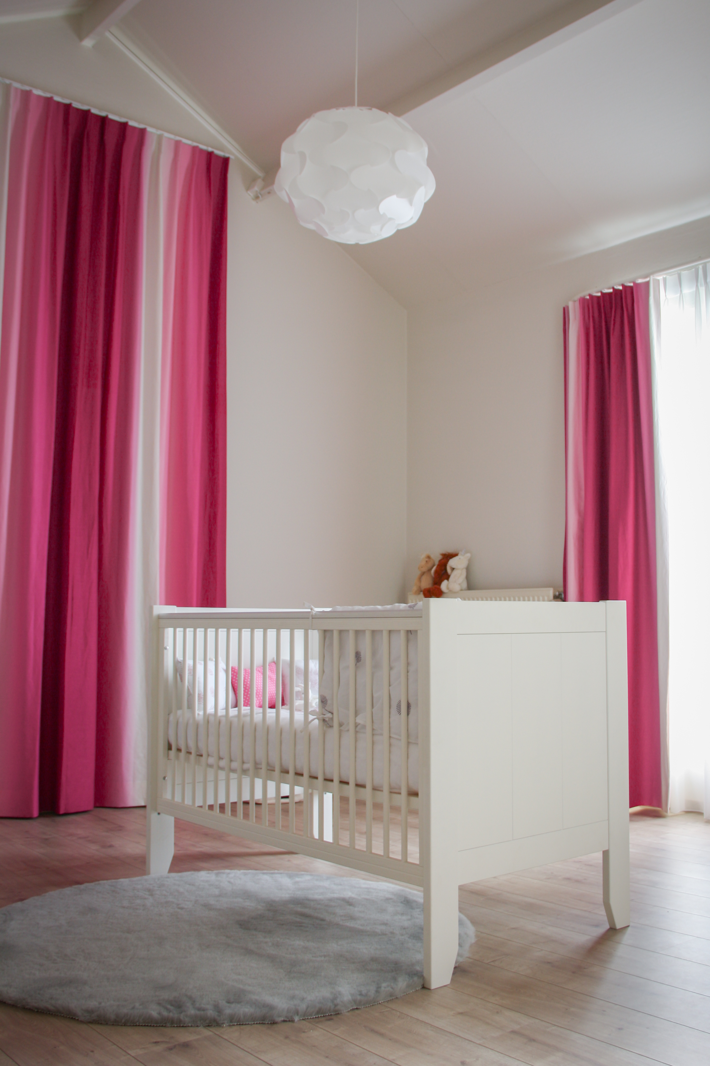 Little girl's room with Borealis